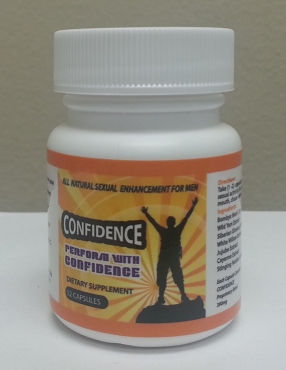 CONFIDENCE - 6 capsule bottle