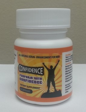 CONFIDENCE - 6 capsule bottles - 12 pack
