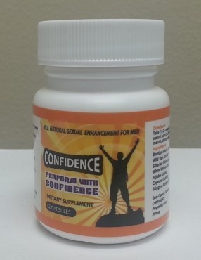 CONFIDENCE - 12 capsule bottle - 12 pack